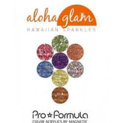 Aloha Glam - akrylové pudry Pro Formula 8ks á 15g