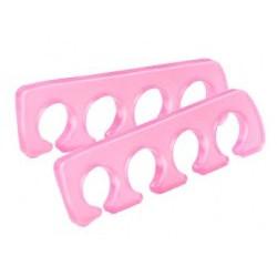 Separátor prstů pro lakování nehtů - silikon, 2 ks