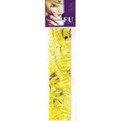 Shell Sheet Zebra yellow