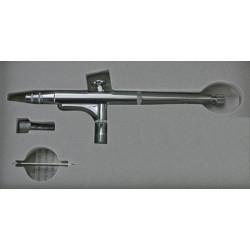 Airbrush pistole s integrovanou nádobkou na barvu