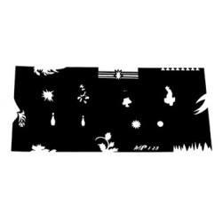 Airbrush šablona MPF 23