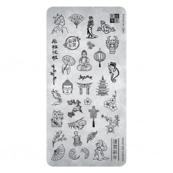Razítko - Stamp Plate 34 Oriental
