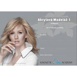 Kurz Akrylová modeláž nehtů I. 14.9.2020