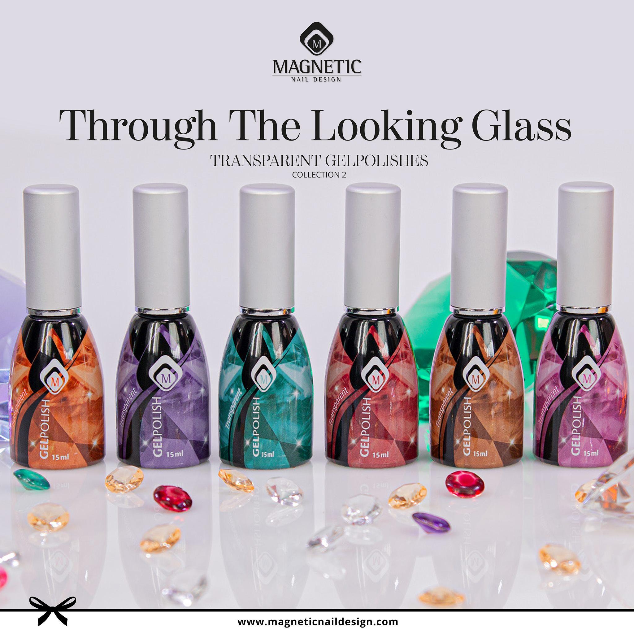 Glass vitráž sklovité gelpolish uv laky na nehty