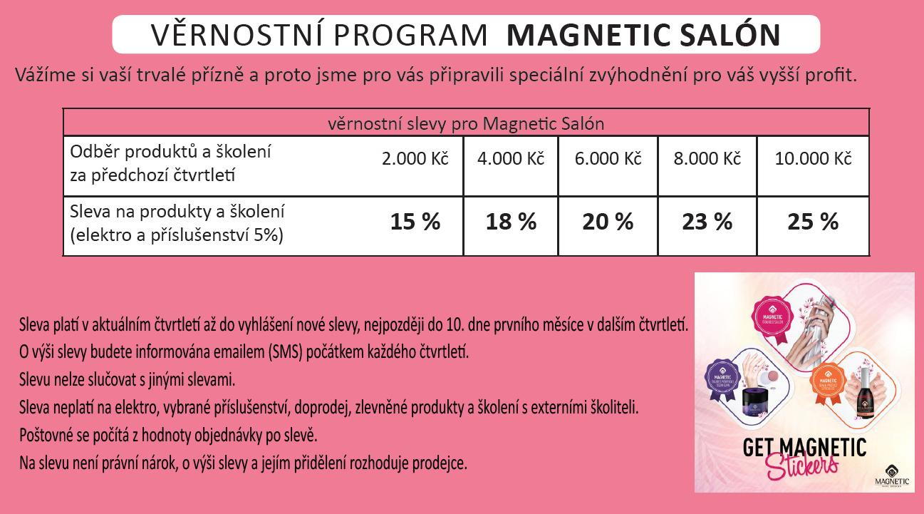 Slevy pro Magnetic Nail Salóny